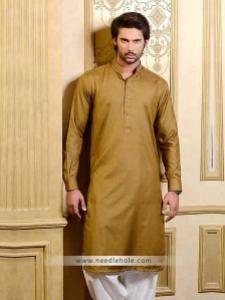 Amir adnan embroidered kurta shalwar for men